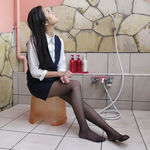 Drenched receptionist