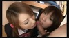 Serious Kawa two beautiful girls double serving in the mouth Uniform gorgeous
