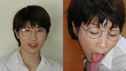 Semen female teacher's glasses facial cumshots! Students cum mania! Mochizuki, Masako's daily sermon