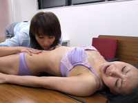 Navel licking Lez-Miki's high-definition Edition Miho navel