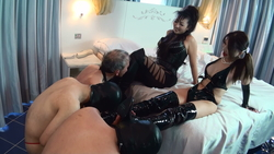 Risa femdom x net Queen like training dinner party