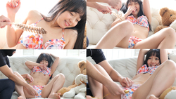 Tickling extremely weak popular actress Rion Izumi's feather & finger tickling! Last is rotor attack! ! (Series U 1/4)