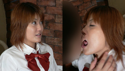 Study on uniform Tanaka in the classroom while teaching passionate kiss! Thick kissing deep Kiss Mania [digital photos]